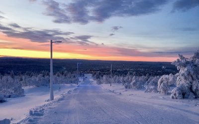 Experience the longest toboggan run in Finland