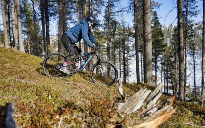 Saariselkä Bike Park opens on 15.6.2019