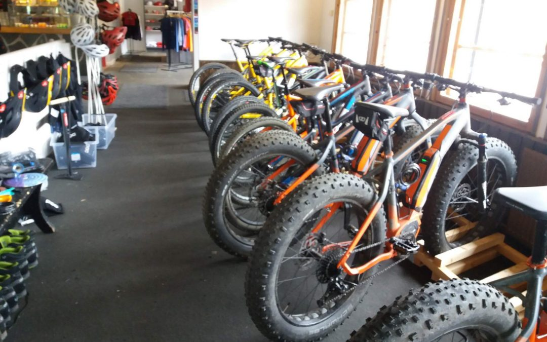 BikeShop Saariselkä -quality rental bikes for downhill & terrain