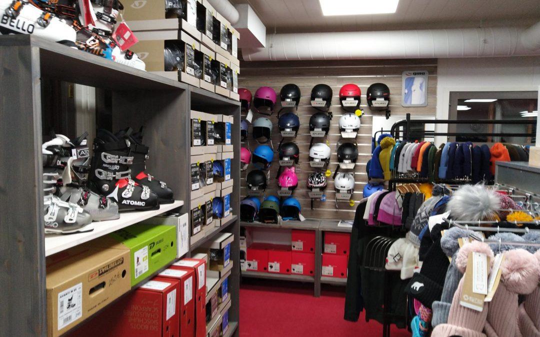 SkiShop – 萨利色尔卡滑雪场的圣诞礼品店 !