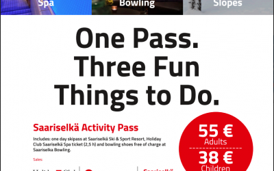 Activity pass available. Now.