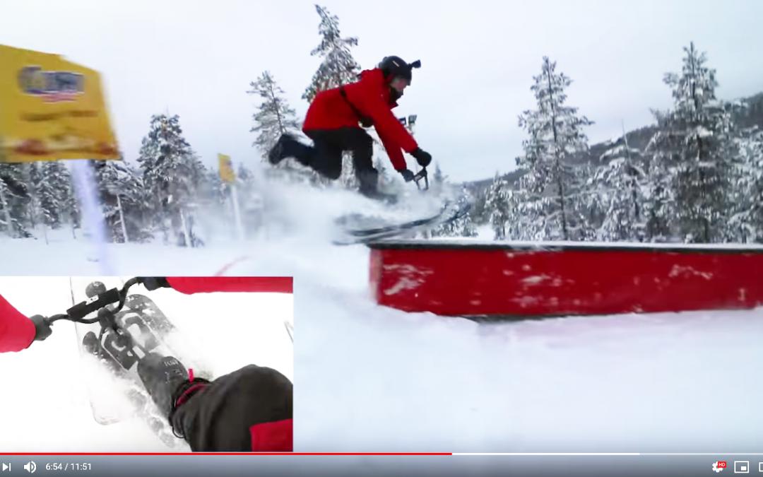 Mikirotta Stigalla Saariselän rinteessä ft. Boheemi